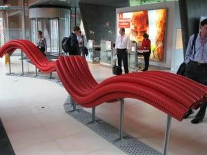 Touring Vodafone's Ductch headquarters. Vodafone is Verizon's European partner.