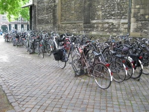 Bikes everywhere in The Netherlands! I will forever hear their bells in my dreams.
