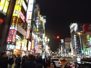We had the opportunity to get out and explore Japanese night life.