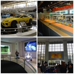 We really enjoyed the Toyota presentation, and had the opportunity to explore the Toyota museum and showroom. Although we couldn't take pictures in the Toyota plant we visited, they had a replica.