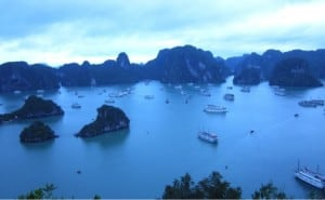 Ha Long Bay- Boats, Boats, Boats