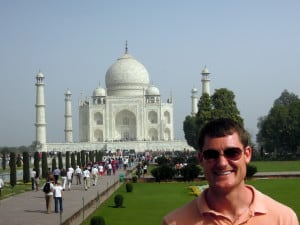 Day 3 - 9:00am: Arrive at the Taj Mahal. It is even more spectacular in person.