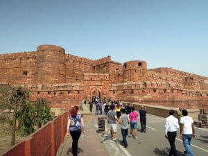 Day 3 - 1:30pm: Tour Agra Fort, the most important fort in India and a UNESCO World Heritage site. All the major Moghul Emperors spent time ruling India from here.