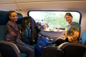 On the Train to Maastricht