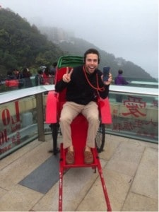 Trying to fit in while in Hong Kong…unsuccessfully
