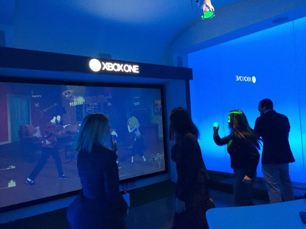 B school students also enjoy dancing to XboxOne