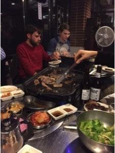 Korean BBQ and Karaoke