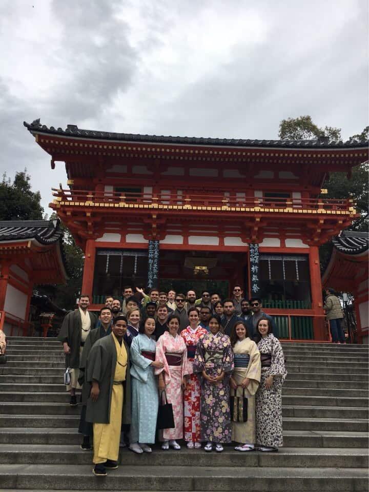 Kyoto Group Photo_Kimonos_Amy High_201703
