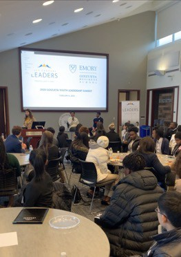 Fireside chat with Arjun Chowdri, chief innovation officer of PGA of America, and moderator Erin Lightfoot, secretary of 21CL Junior Board of Directors.